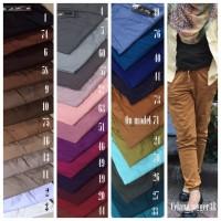 Jual Jogger Pants 3R, Celana Joger Panjang Wanita bahan Katun, Big Hamil ok Murah