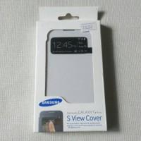 Flip Cover Samsung Galaxy S4 Mini Original S View Cover