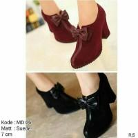 harga boot/heels/wedges murah suplieur sepatu wanita Tokopedia.com