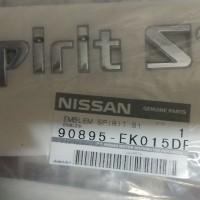 harga EMBLEM BAGASI TERRANO SPIRIT S1 / S2 / S3 Tokopedia.com