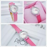 harga KT6001 Fashion Watch Jam tangan Anak Wanita Hello Kitty Diamond Tokopedia.com