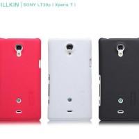 NILLKIN Super Shield Hardcase Sony Xperia T LT30p Free HD ScreenGuard