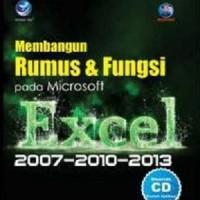 Membangun Rumus Dan Fungsi Pada Microsoft Excel 2007-2010-2013+cd