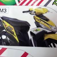 harga Lis Body Yamaha Mio M3 125 Movistar Tokopedia.com