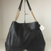 JUAL TAS COACH PHOEBE BLACK AS ORIGINAL ASLI