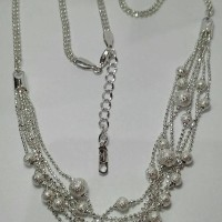 harga Klp020 Xuping Kalung Putih Lada Susun @100 Tokopedia.com