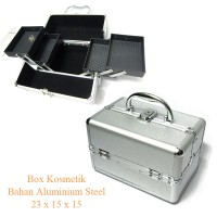 harga Box kosmetik beauty case kotak make up perhiasan stainless burberry Tokopedia.com