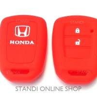 Kondom Kunci Silikon Remote Keyshirt Honda BR-V New Mobilio HR-V MERAH