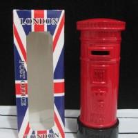 harga Pajangan miniatur kotak surat London - souvenir negara Inggris Tokopedia.com