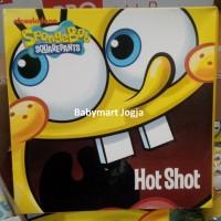 SPongebob Hot shot bean bag, mainan kain lempar bola ke keranjang