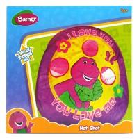 Barney Bean Bag Hot Shot Mainan lempar bola/bantal ke keranjang
