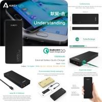 harga Aukey Quick Charge 2.0 20W Dual Output Powerbank 10000mAh PB-T4 (Qualc Tokopedia.com
