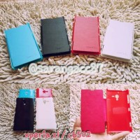 LEATHER FLIP COVER SONY XPERIA ZL / C6502 CASING