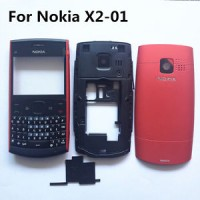 Casing HP NOKIA X2 - 01 full set original FC casing nokia jadul / lama