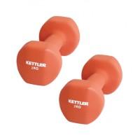 Kettler Dumbell Neoprene 4kg Merah / Dumbell Neoprene Merah (4kg/pair)