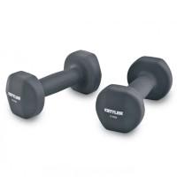 Kettler Dumbell Neoprene 10kg Grey / Dumbell Neoprene (10kg/pair) Abu2