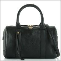 Tas Authentic TORY BURCH Broody black leather original asli
