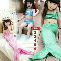 Baju Renang Duyung Fashion Import Mermaid Swimsuit Fashion BEST SELLER