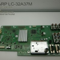 harga MESIN TV - MAINBOARD LCD TV LED SHARP LC-32A37M - QPWBXF067WJN2 Tokopedia.com