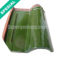 Genteng Morando Glazur Hijau Super Jatiwangi 4000 Pcs