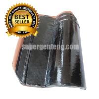 Genteng Morando Glazur Brown/ Antik Super Jatiwangi 4000 Pcs