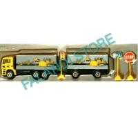 Mainan Alat Berat Konstruksi Mobil Truk Gandeng B
