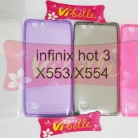 Ultrathin Softcase Infinix Hot 3 X553 / X554 ultra thin soft case jely