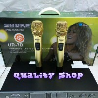 Microphone wirelles SHURE UR7D made in mexico