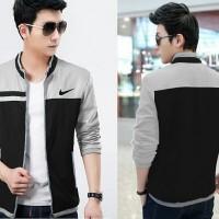 harga Jaket Nike pria cowok terbaru model gaul keren hitam abu jaket gaul Tokopedia.com
