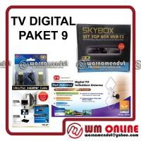 DIGITAL TV DVB-T2 SKYBOX set top box + PX HDA-5000 + HDMI CABLE HD-2F