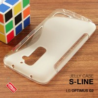 LG Optimus G2 Soft Gel Jelly Silicon Silikon TPU Case Softcase Clear