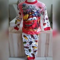 Baju Tidur Anak Cars / Piyama Anak Cars PP