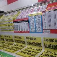 Cetak Banner / Spanduk / MMT / Bahan Flexi 260 Gram / Mesin Outdoor
