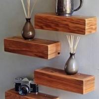 4pcs floating shelf mini / ambalan mini / rak dinding