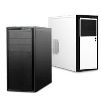 Casing NZXT SOURCE 210 (White..Black)