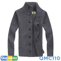 Cardigan Pria Cotton Rajut Halus Kualitas Premium QMC110