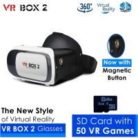 VR BOX 2 & Memory 8GB (Game Android VR) -- Kacamata 3D Virtual Reality