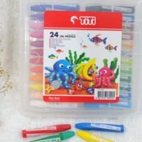 Crayon TITI Oil Pastel 24 Warna