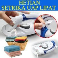 Setrika Lipat Mini Sterika Uap Universal Steamer Iron Travel