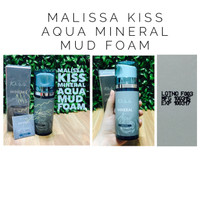 [Full 80gr] Kiss Aqua Mineral Facial Mud Foam By Malissa Kiss Skincare