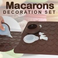 macarons decoration set - Tempat Pencetakan Kue / Macaron