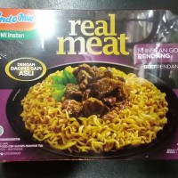 INDOMIE GORENG REAL MEAT RASA RENDANG