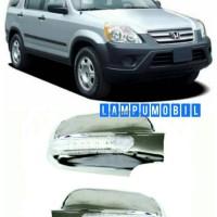 Cover Spion Honda New CRV 2002-2006 With Sign Lamp (set)
