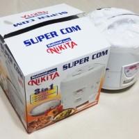 Grosir Penanak Nasi 3 In 1 Magic Com Nikita 806 Rice Cooker 1,8 Liter