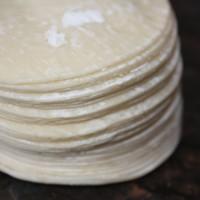 Kulit Gyoza / Siomay / Dimsum Bentuk Bulat isi 50 lembar ukuran 9cm