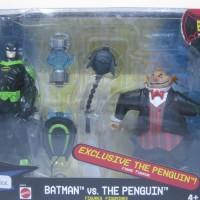 MIB The Batman EXP 2-Pack BATMAN VS. THE PENGUIN W Exclusive Figure