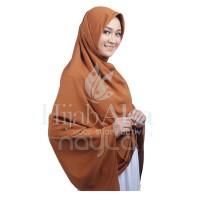 Khimar Jilbab Segitiga Marsya Coklat