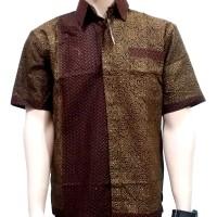 Jual Kemeja Batik | Baju Batik | Hem Batik Pria / Cowok BTK08 Murah
