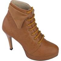 harga Sepatu Boots High Heels Wanita CTNZ AY 596 Tokopedia.com