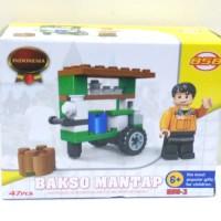 harga lego gerobak bakso / Lego bakso / lego unik Indonesia Tokopedia.com